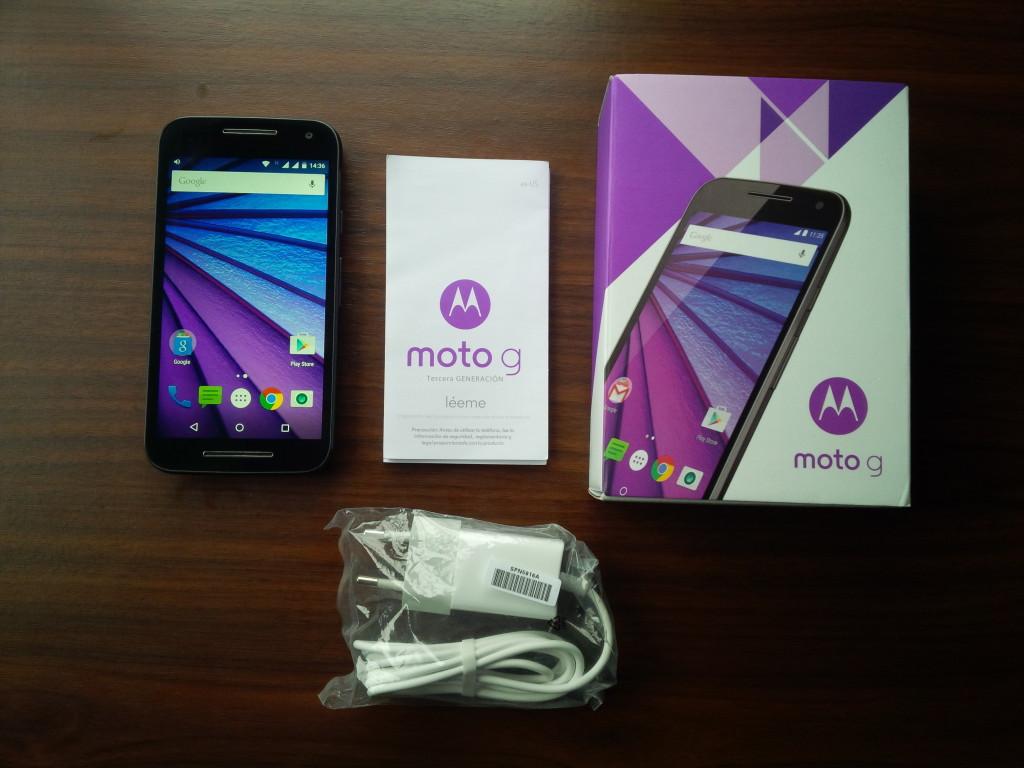 Review Motorola Moto G Tercera Generaci 243 N