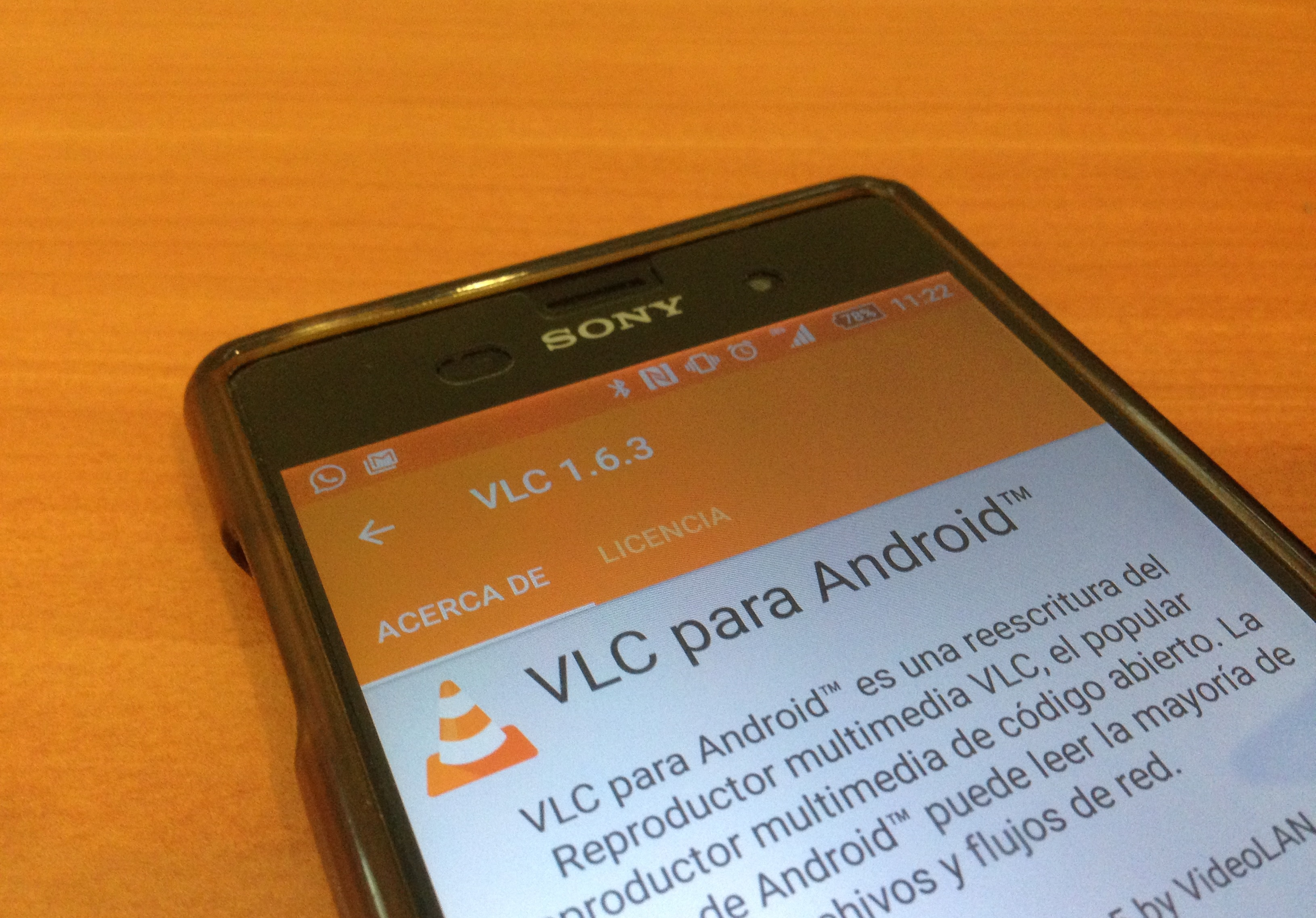 vlc android 1.6.3