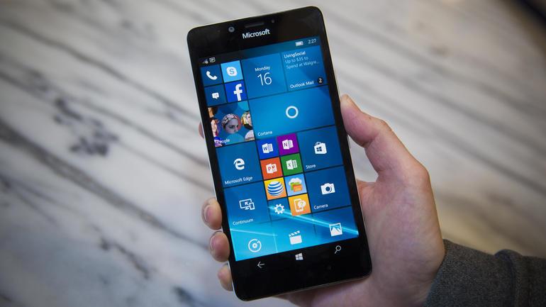 windows 10 mobile lumia 555 microsoft