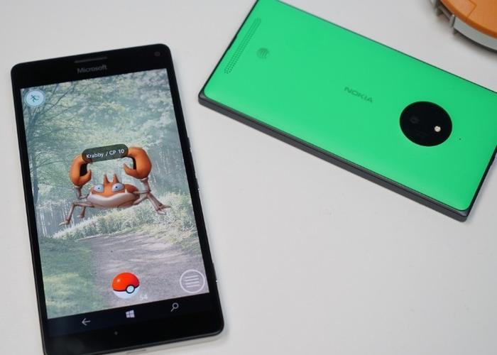 pogo-uwp pokemon go windows 10(diez) mobile 2