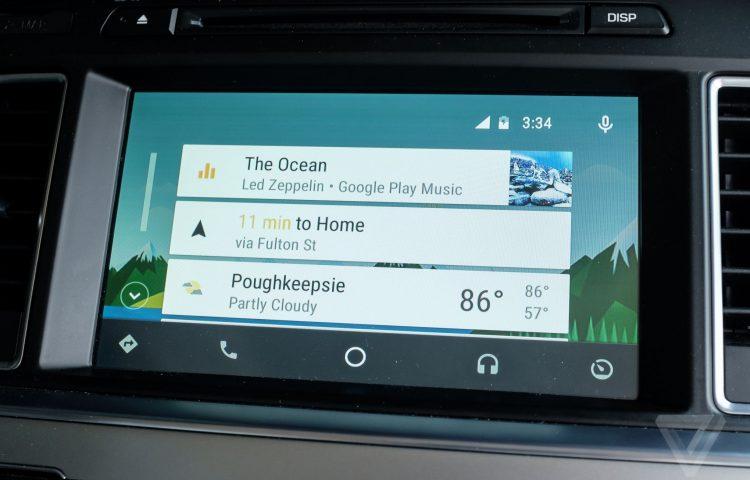 Resultado de imagen de android auto