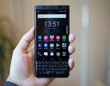 blackberry keyone black edition
