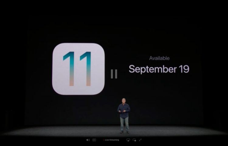 iOS 11 Apple