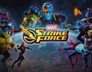 Marvel Strike Force portada