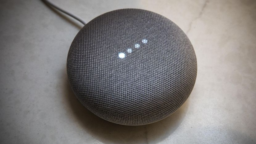 google home mini black