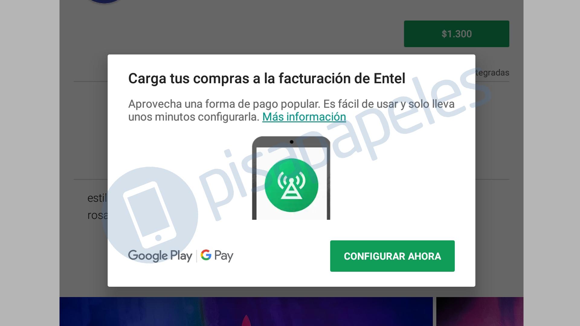 b55afd387f5 [Actualizado] Ahora puedes hacer compras en Google Play con cargo al  servicio móvil de Entel