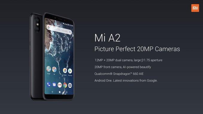 Los Xiaomi Mi A2 Y Mi A2 Lite Ya Son Oficiales