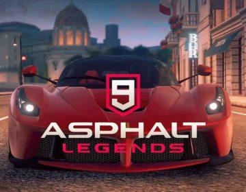Asphalt 9 legends portada