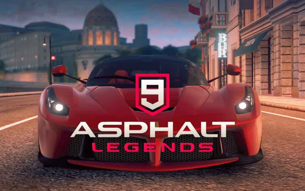 Asphalt 9 legends portada