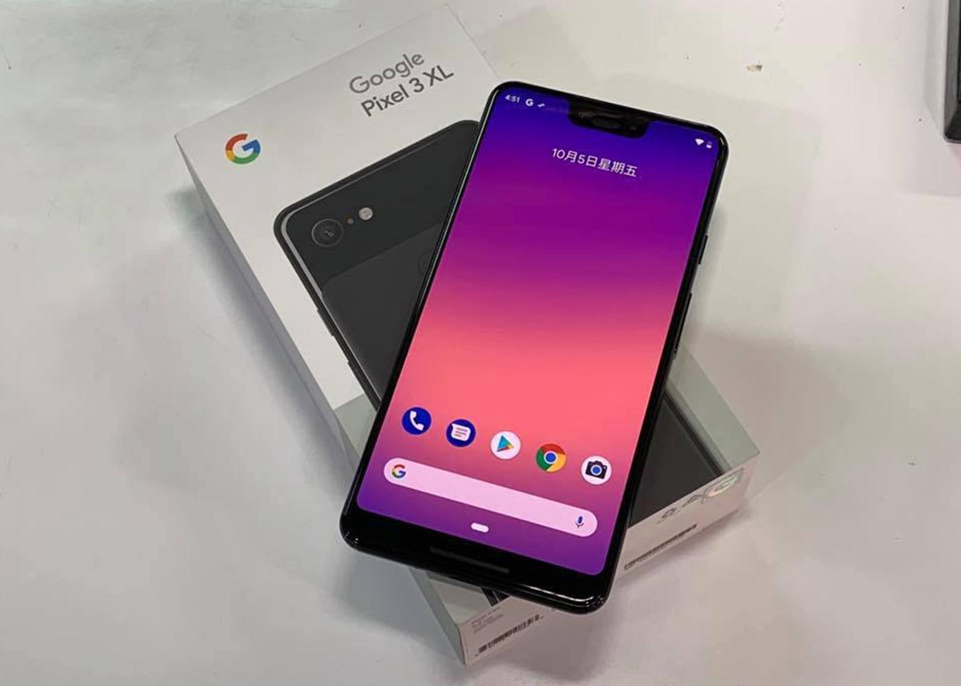 google pixel 3 en caja