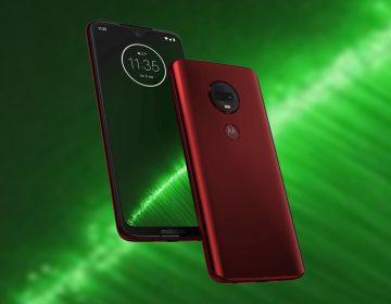 Motorola Moto G7 Plus portada
