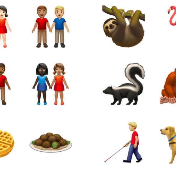 Nuevos emojis 2019 de Apple