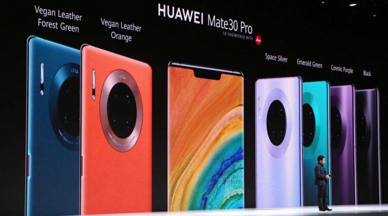 Huawei Mate 30 Pro portada