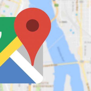 Google Maps portada modo moto