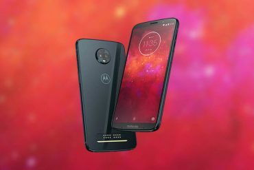 Motorola z3 gama alta portada