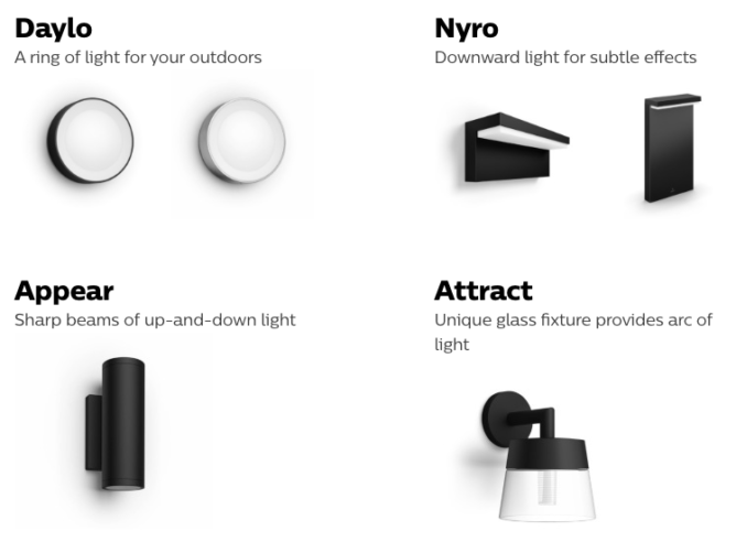 Philips hue luces exterior