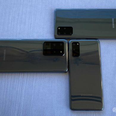 Samsung Galaxy S20 Ultra series (8) portada