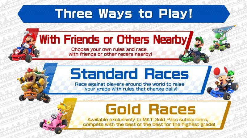 Mario Kart Tour: el modo multijugador finalmente tiene fecha de lanzamiento