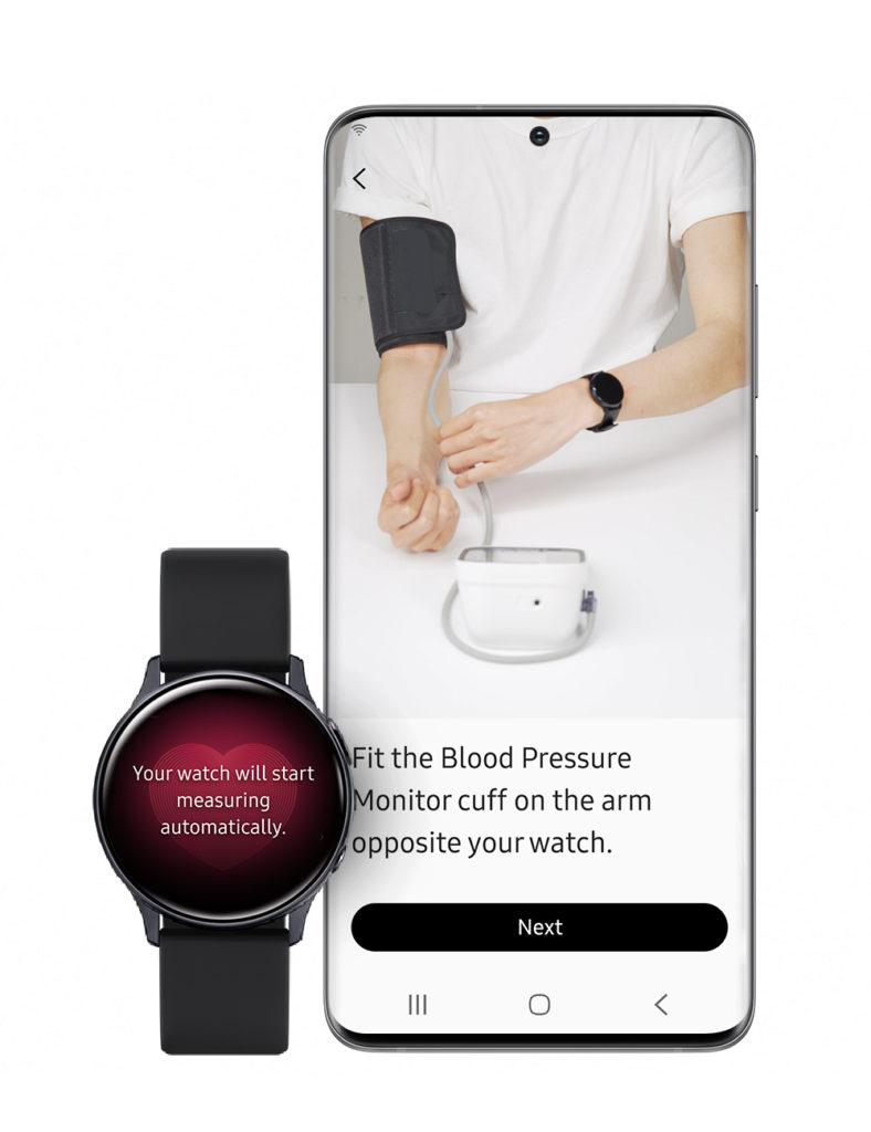 El Samsung Galaxy Watch Active2 ya puede medir la presión..