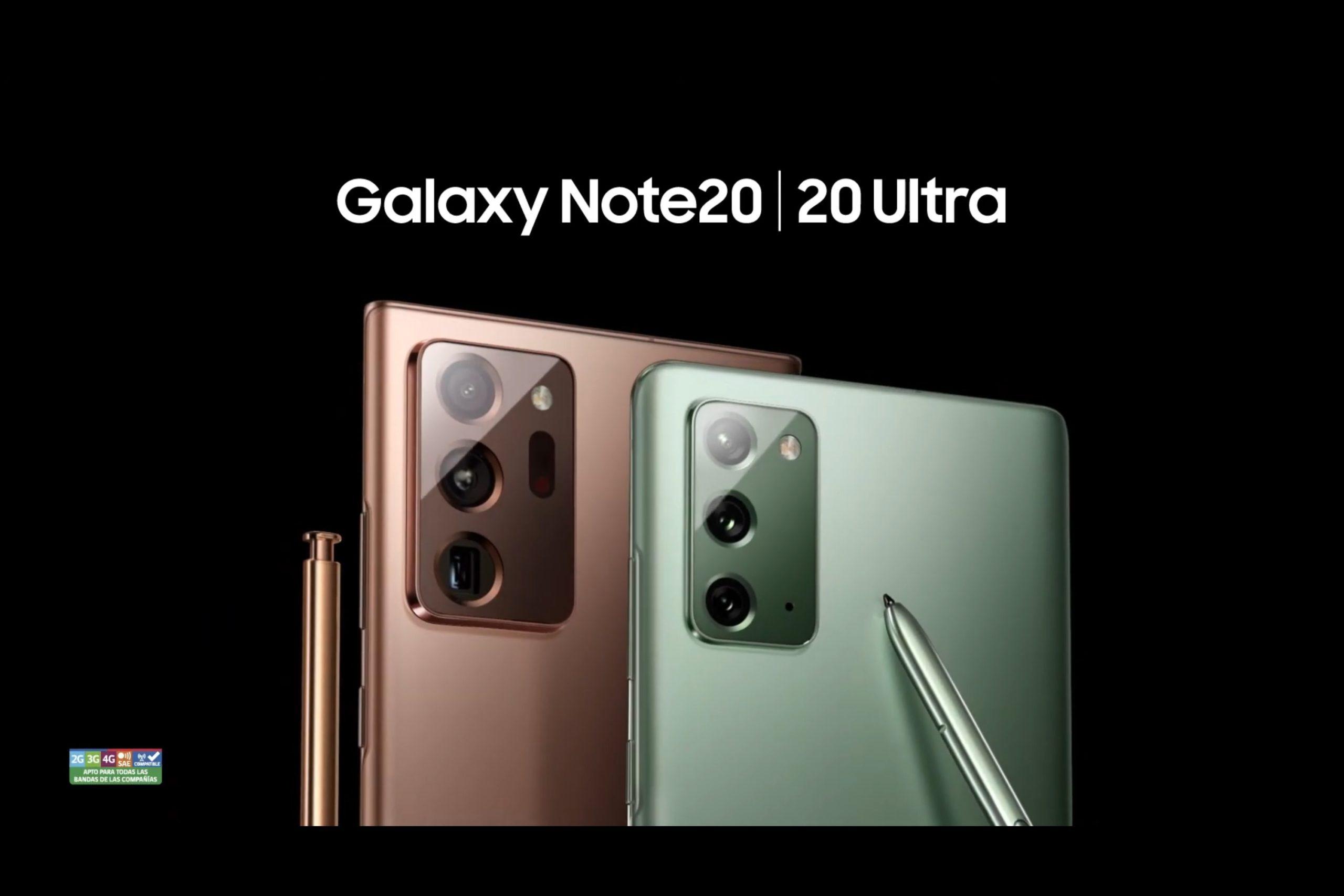 ¿Interesado en los Samsung Galaxy Note 20 y Note 20 Ultra ...