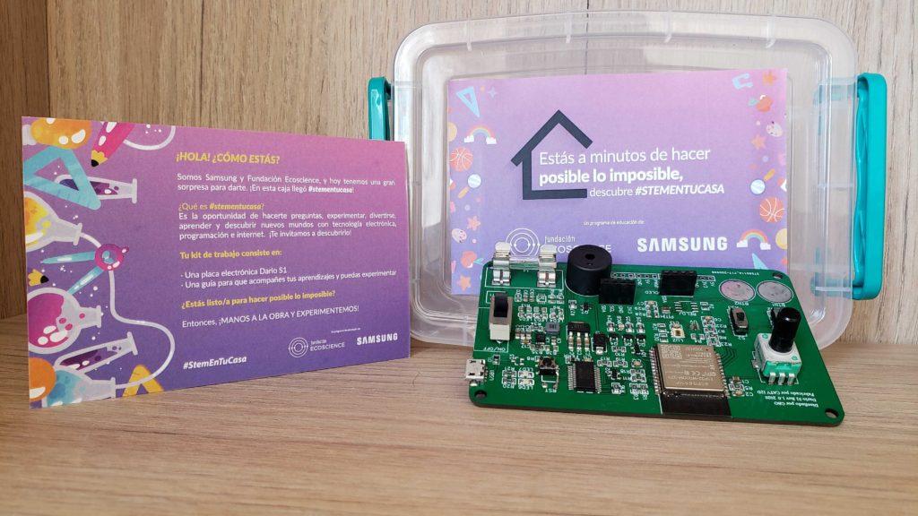 Samsung y Ecoscience lanzan programa para enseñar habilidades digitales a estudiantes chilenos