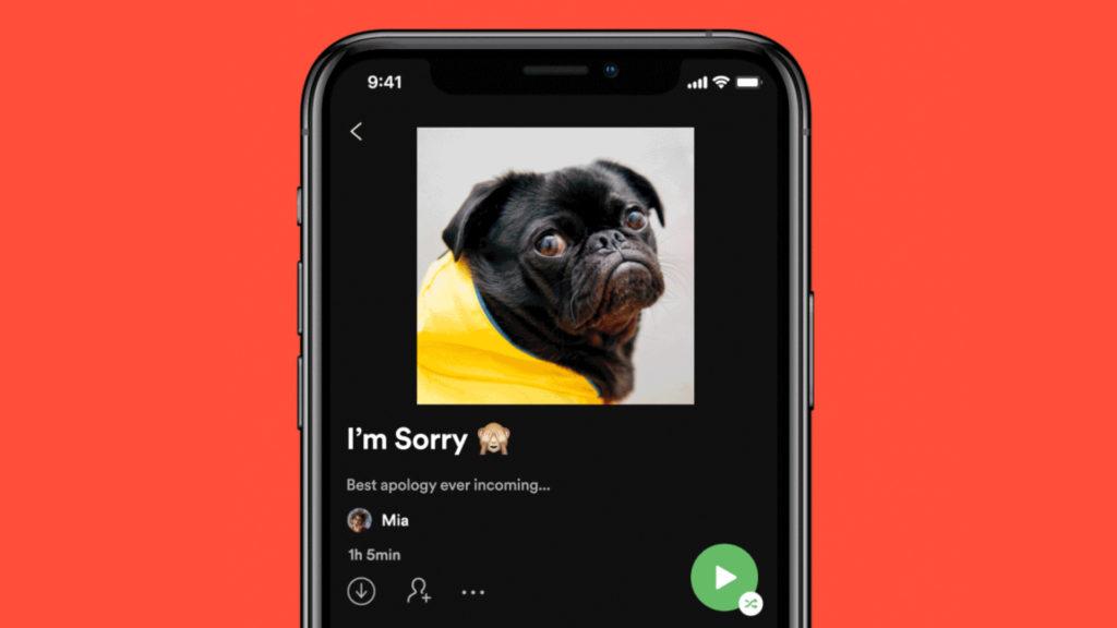 Las aplicaciones de Spotify para iOS y Android ya permiten personalizar la carátula de una lista de reproducción, Cloud Pocket 365